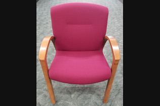 Steelcase Wood Side Chair
